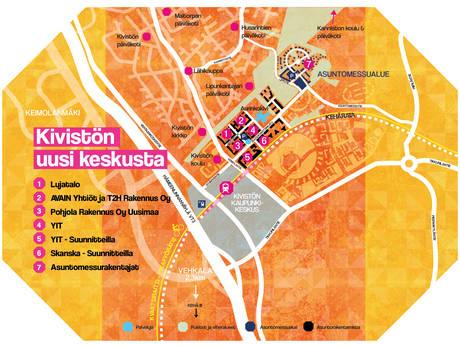 Vantaan Kiviston Keskustaan Ja Asuntomessualueelle Rakenteilla Jo