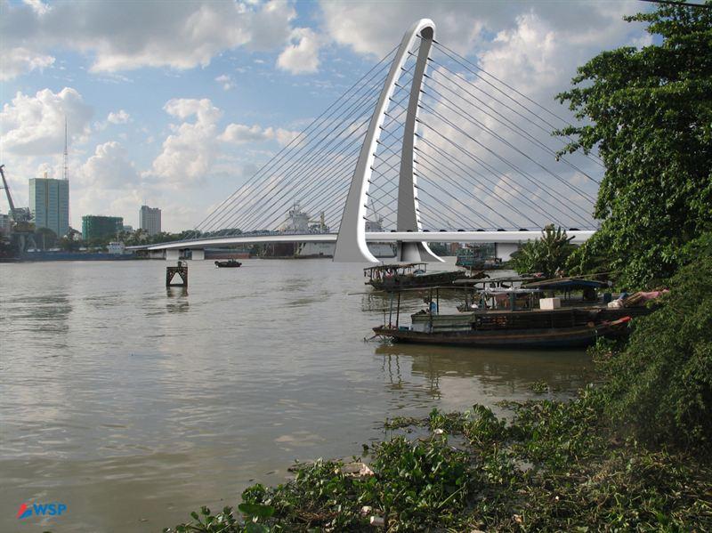 WSP allekirjoitti sopimuksen sillan rakennussuunnittelusta Vietnamissa